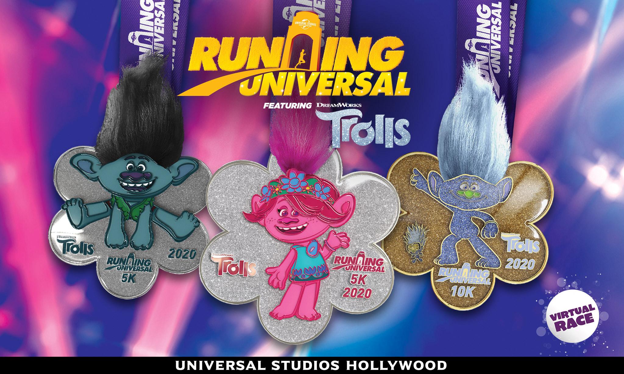 Universal Studio Hollywood好莱坞影城将举办魔发精灵虚拟赛跑