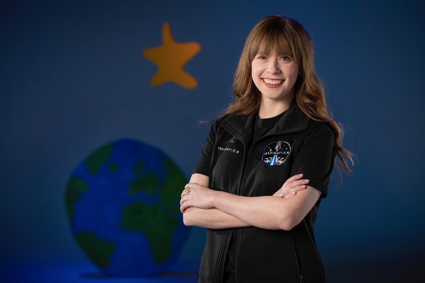 全球首个全民用太空飞行任务 Inspiration4 任命第二位机组人员
