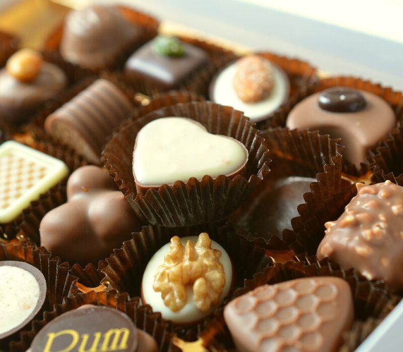 chocolates, food, candy