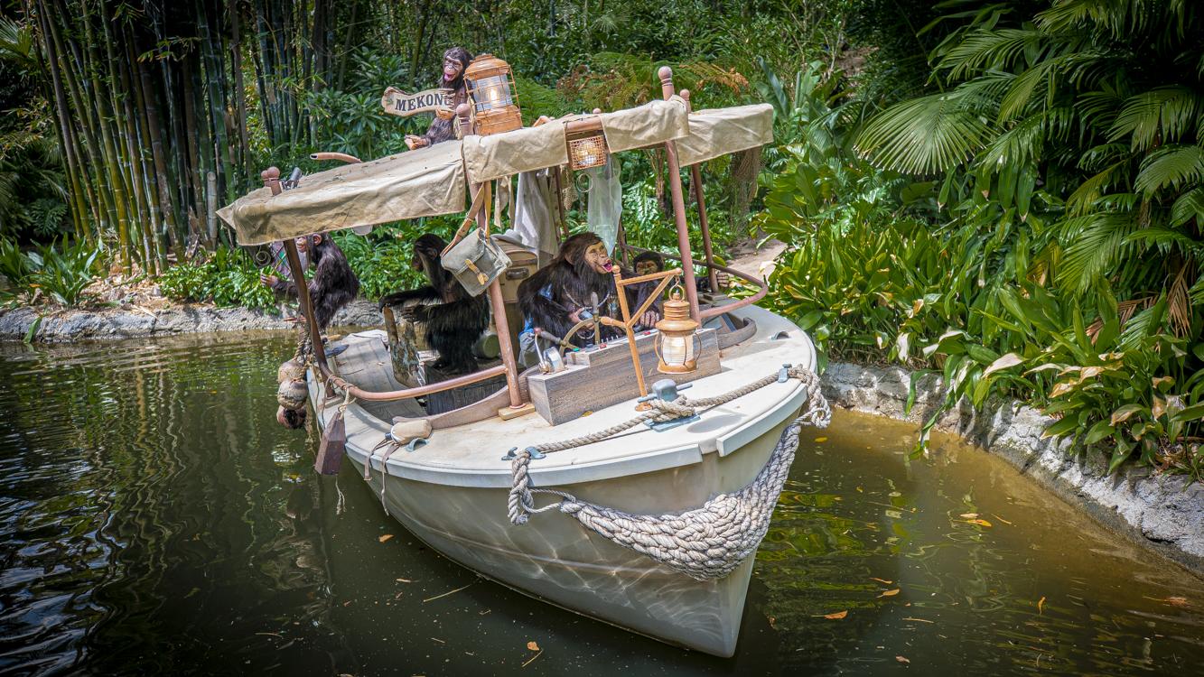 迪士尼經典Jungle Cruise景點新內容