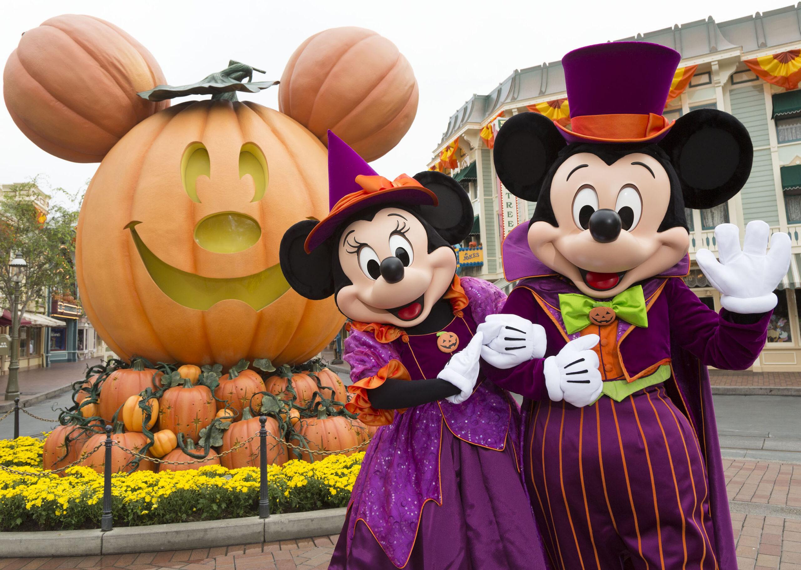 秋天最愛——來迪士尼樂園度假區过萬聖節