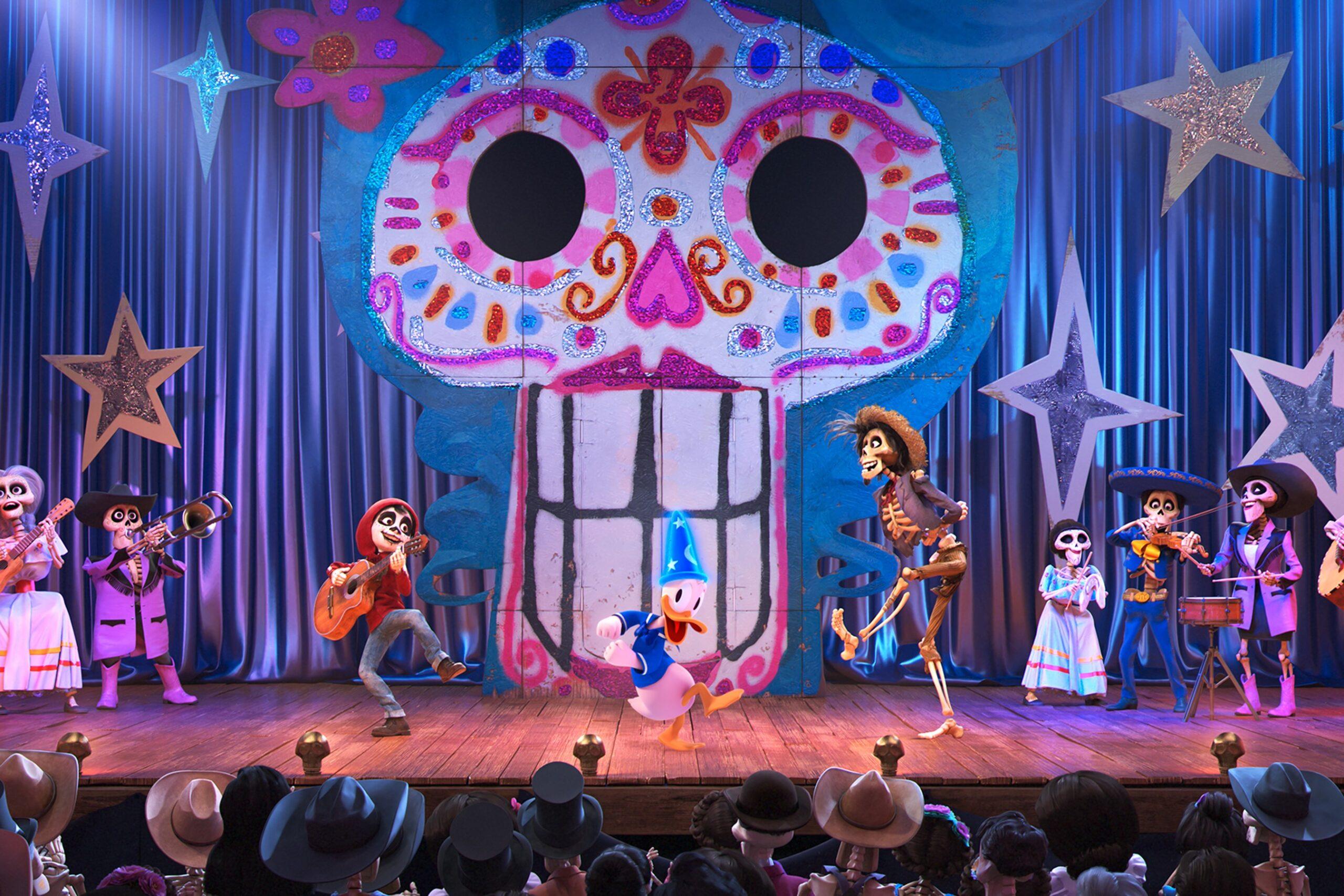 """迪斯尼和皮克斯合作的《Coco》將於7月17日登陸 """"米奇幻境"""""""