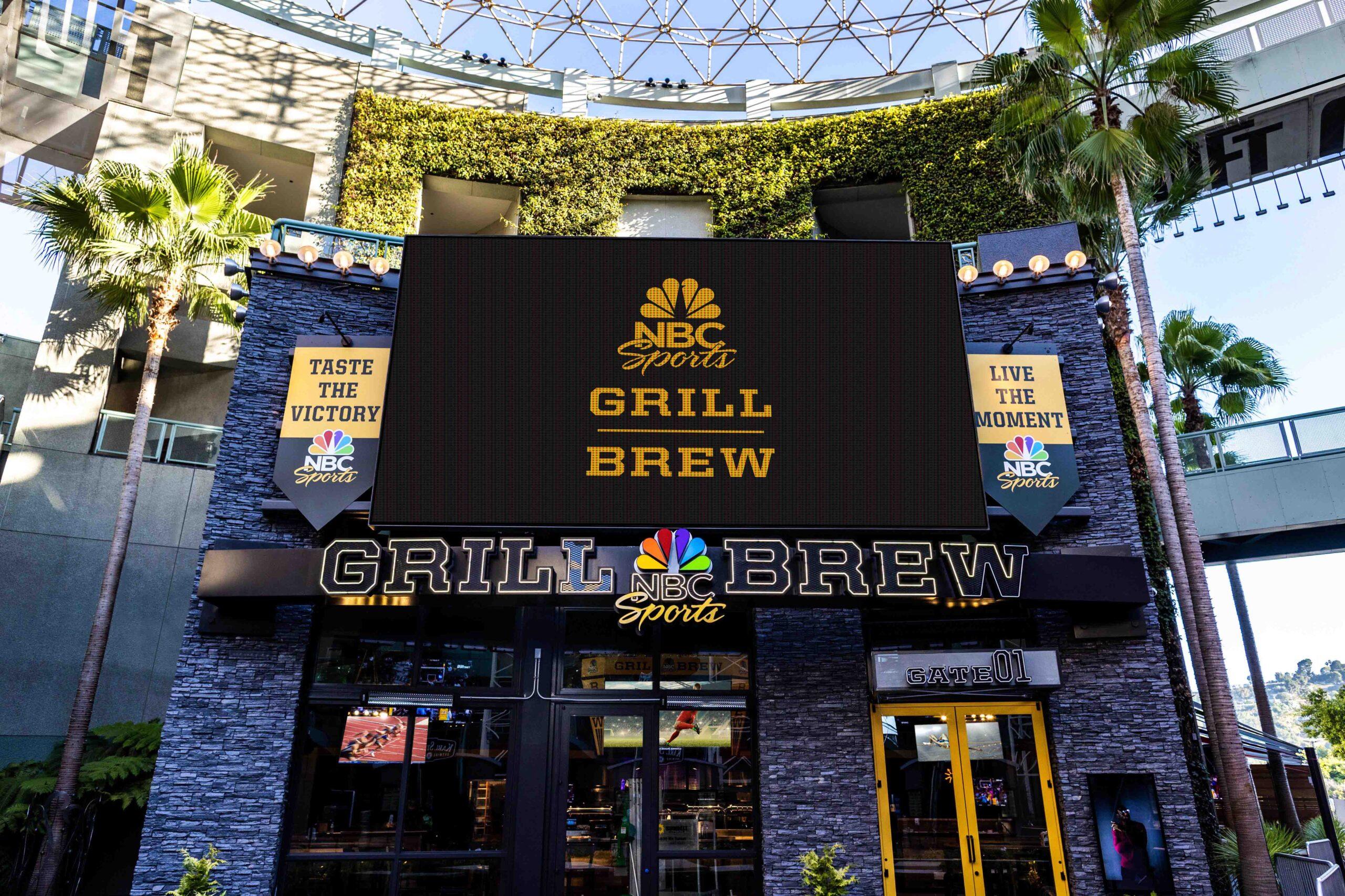 NBC體育啤酒烤肉餐饮店在好萊塢環球影城城市廣場開業