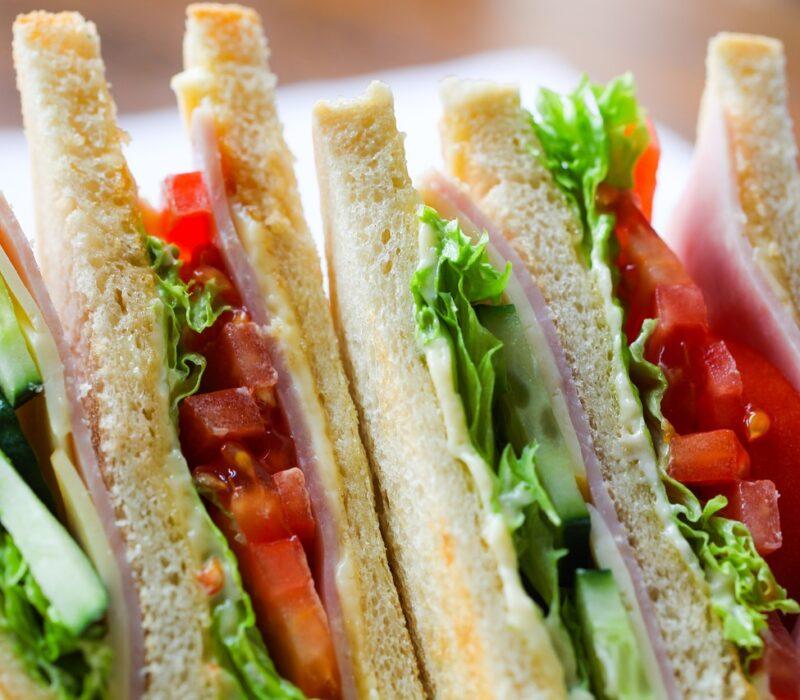 sandwich, toast, food