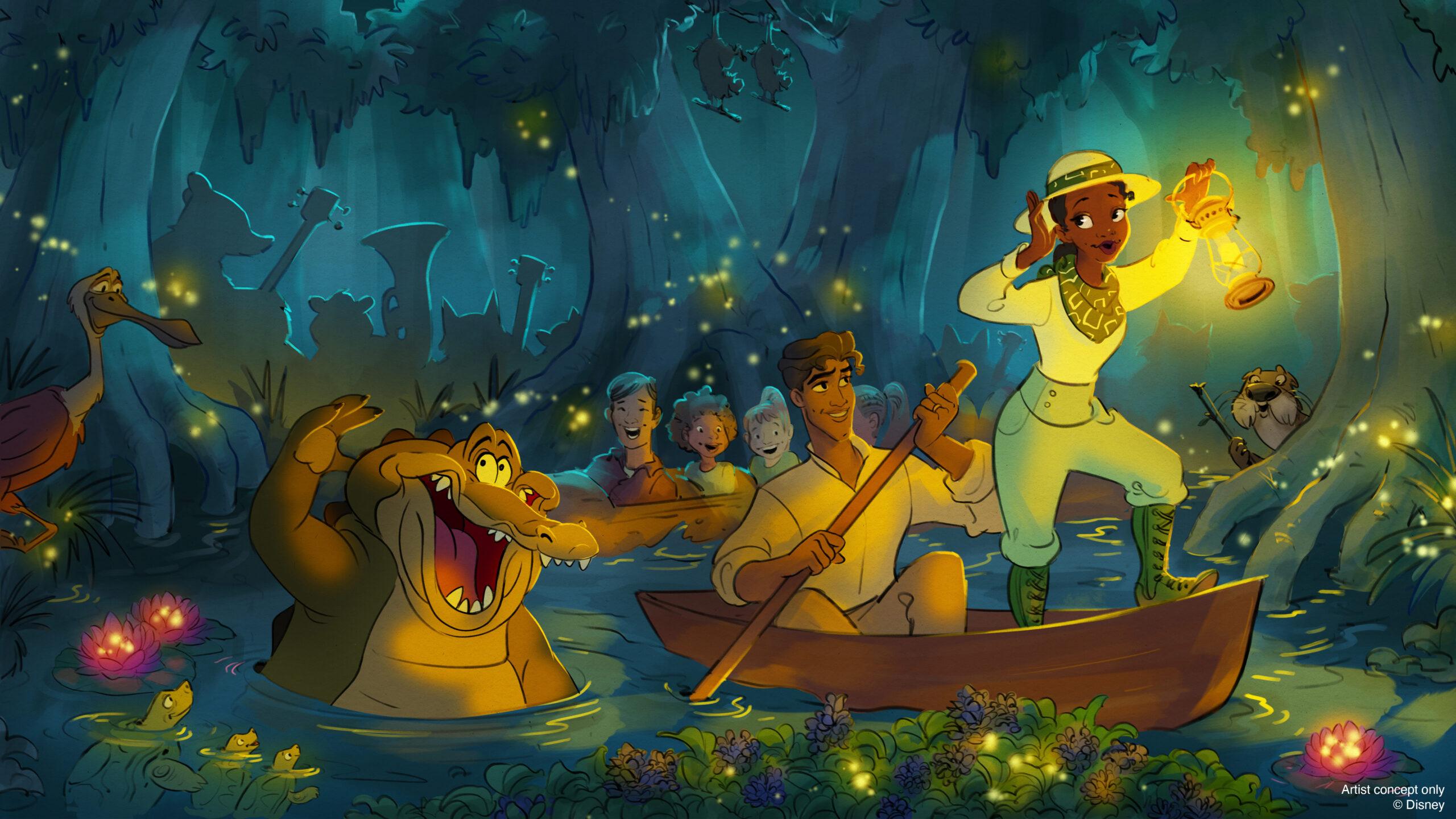 慶祝世界公主週:迪士尼公園即將發佈「公主與青蛙」景點的最新消息